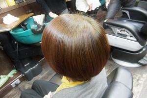 白髪率50%以上の方はヘナ後インディゴ