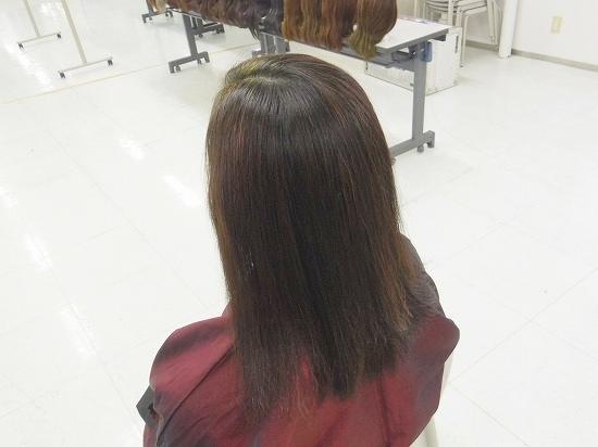 白髪率50%超=HQヘナ後、紫紺がお薦め