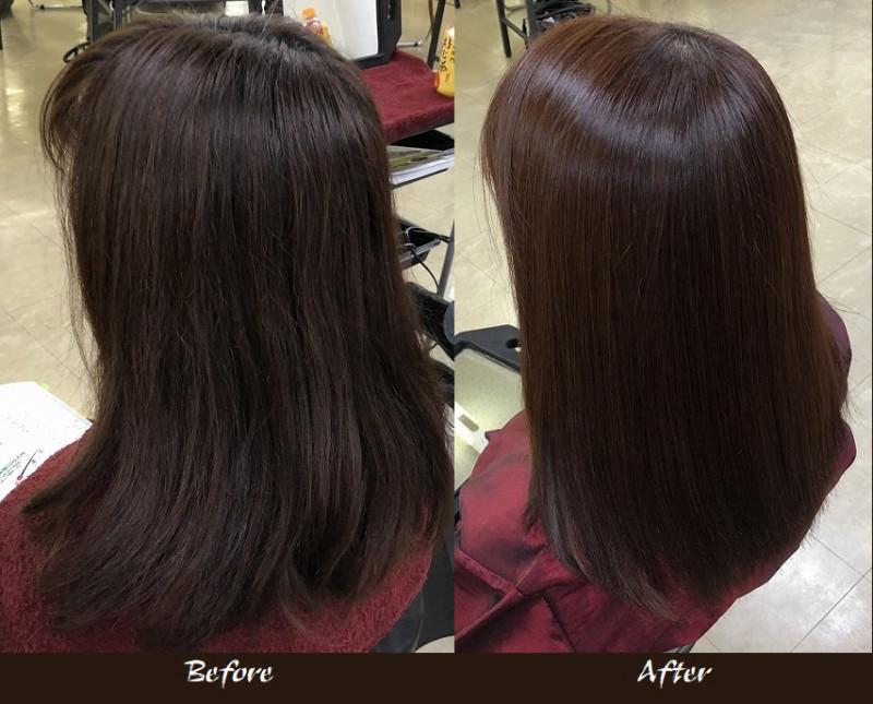 カラー毛へ熟成ヘナどのように変化するでしょうか?