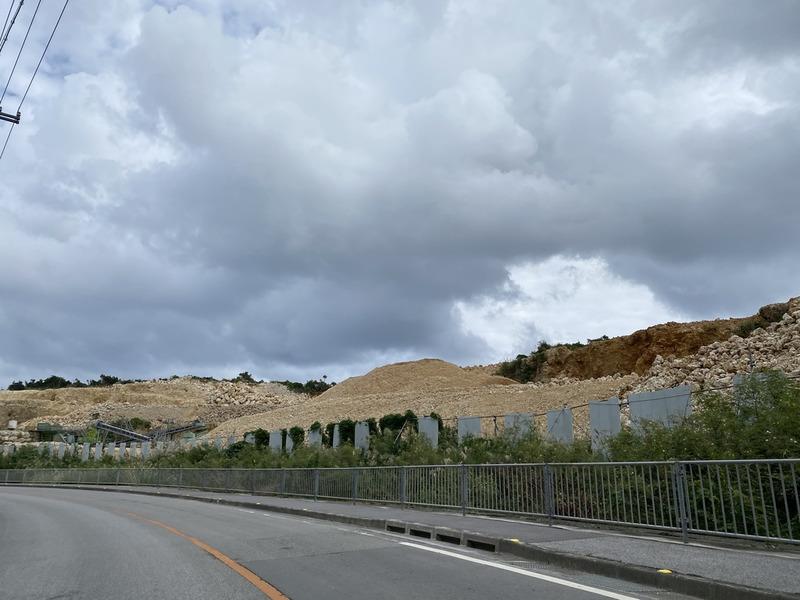 琉球石灰岩で強風対策